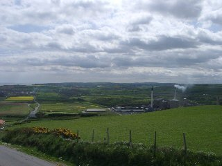 A view of Cleveland Potash mine taken from Boulby taken from Boulby