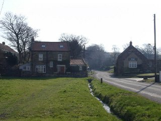 A view of Ellerby village