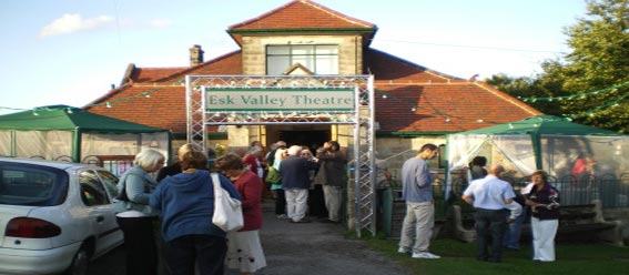 A view of The Esk Valley Theatre held at the Robinson Institute in Glaisdale
