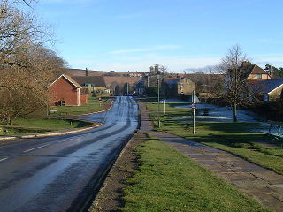 A view of Goathland village