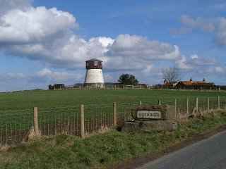 A view of the old windmill at Ugthorpe